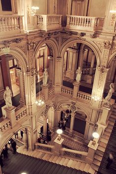 Inside Vienna Opera House