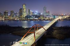 Bridge in Seoul, South Korea