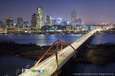 Bridge on Seoul, South Korea