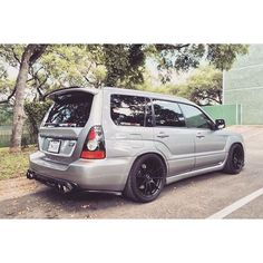 Amazing exhaust and diffuser set up  | Owner? | #フォレスター  #subaru #foresternation