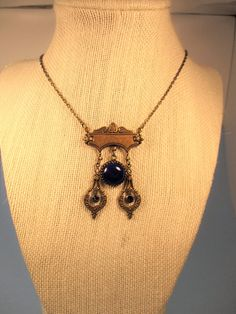 Lapis Lazuli Necklace by spiritracer. Explore more products on http://spiritracer.etsy.com