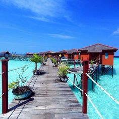 Maratua Paradise Resort at Derawan Island | kakabantrip's - East Kalimantan Indonesia