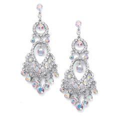 f1e6d4b20 Prom Jewelry | Beautiful chandelier earrings – WeddingSparkles.com, your  choice Silver Drop Earrings