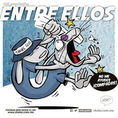 """""""Entre ellos"""" #ElCartonDelDia #Zheko_grafico #disfrutenloConLeche #MonerosFutboleros"""