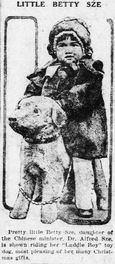 Laddie Boy Toy c. 1922