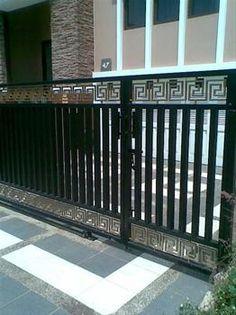 30 Desain Model Pagar Tembok Minimalis Modern Elegan Ideas Compound Wall Design House Design Fence Design