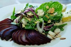 Spinach & Micro Greens Salad