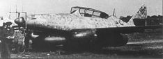 Me 262 B-1a/U1, Rote (red) 12, WNr. 111980 with FuG 218 Neptun antenna in the nose and second seat for a radar operator. This variant served in the 10. Staffel Nachtjagdgeschwader 11, near Berlin, and accounted for most of the Mosquitoes lost over Berlin in the first three months of 1945. Ww2 Aircraft, Fighter Aircraft, Military Aircraft, Fighter Jets, Luftwaffe, Me262, Messerschmitt Me 262, Ww2 Pictures, Jet Engine