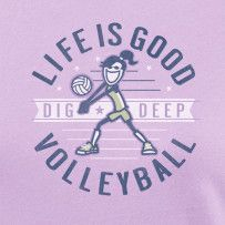 Dig Deep Volleyball, #LifeisGood#ThinkSpring