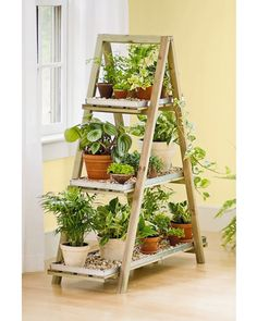 Plant shelf liners stand would be a way to have more plants on a stand instead of a table.