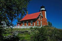 Eagle Harbor Light, Copper Falls, Michigan