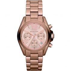 Michael Kors Ladies Mini Bradshaw Chronograph Watch MK5799