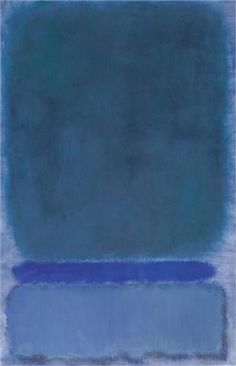 Untitled (Green on Blue) - Mark Rothko