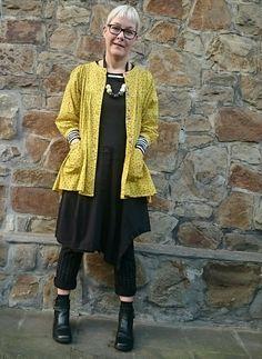 Gudrun sjöden vintage blouse, dress rundholz, shoes gudrun sjöden