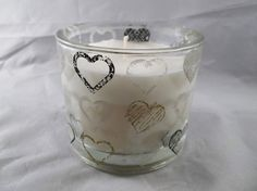 Luxury Glass Container Eco Soya Wax Scented by LittleWaxWonderland