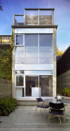 Located in Toronto's Cabbagetown neighbourhood, the primary design challenge for this residential project was to create a contemporary addition and renovation to a 100-year old home while fulfilling the requirements of the Toronto Historical Board. The front façade is respected and maintained, while the rear facing new addition is boldly...