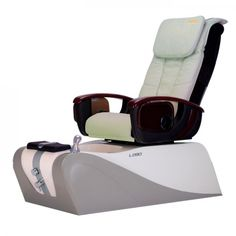 Spa Pedicure Chair - Massage chair and quiet nicely together to form a world-class pedicure system,satistaction for you and your customer. Spa Pedicure Chairs, Pedicure Spa, Spa Chair, Massage Chair, Nail Salon Furniture, Spa Lighting, Remote Control Holder, Spray Hose, Drain Pump