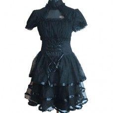 Lolita Lace Corset Dress. www.nixdungeon.co.nz