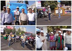 Social Initiative to Create Awareness about Traffic Rules & Road Safety among people of Ahmedabad!