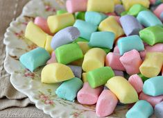 Butter Mints are smooth and creamy homemade mints. Learn how to make these easy after-dinner mints and give them as gifts or serve them at weddings, showers, and parties! Köstliche Desserts, Delicious Desserts, Dessert Recipes, Homemade Butter, Homemade Candies, How To Make Butter Mints Recipe, Homemade Sweets, Mint Recipes, Candy Recipes