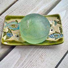 Ceramic Soap Dish, Hand Painted, Ceramics, Dishes, Instagram Posts, Handmade, Crafts, Ceramica, Pottery