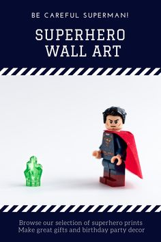 Lego Wall Art, Superhero Wall Art, Kids Room Wall Art, Modern Art Prints, Wall Art Prints, Poster Prints, Toddler Room Decor, Lego Pictures, Kids Birthday Gifts