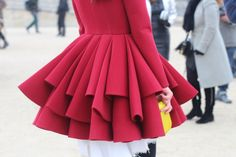 #isabelbuganu #female #red #dress #romania #reddress #paris #fashion #streetstyle #streetview #street #style #offcatwalk ON #sophiemhabille.com