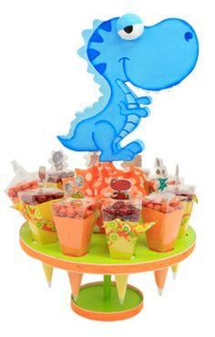 Decoración para barra de dulces de fiestas infantiles. Manualidades