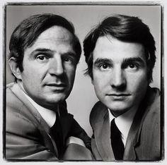 François Truffaut  Jean-Pierre Léaud by Richard Avedon