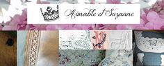 LINGE ANCIEN d'Aimable et Suzanne : le Blog et la boutique detacher