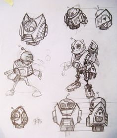 The Real John Wu » Gallery » Ratchet & Clank