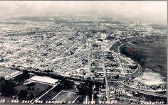 Vista Aérea de São José dos Campos-SP  Final da Década de 1960