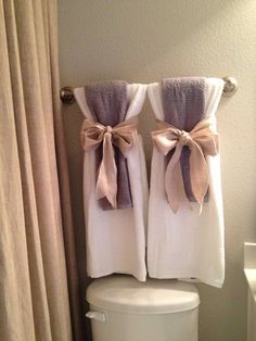 Bathroom Decor With Towels