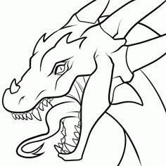 53 Best Dragons Images On Pinterest Drawings Coloring Books And