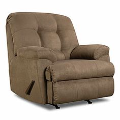 Great reading chair! Simmons® Velocity Shitake Recliner at Big Lots. ($285)