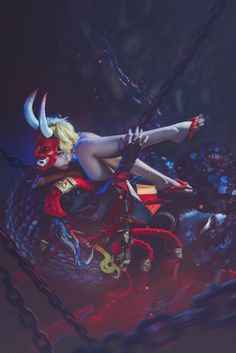 Omiya as hannya of Onmyoji cosplay ,so cool. Amazing Cosplay, Mobile Game, One In A Million, Anime Style, Best Games, Character Inspiration, Darth Vader, Around The Worlds, Japan