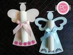 Manualidades Para Bautizo De Niña2 First Communion Party, Baptism Party, Boy Baptism, First Holy Communion, Christening, Diy And Crafts, Crafts For Kids, Paper Crafts, Party Invitations