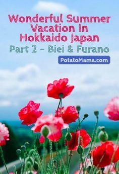 Wonderful Summer Vacation In Hokkaido Japan Part 2 - Biei