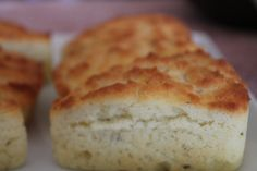 Herbed Goat Cheese Rustic Biscuits #glutenfree #celiac #recipes