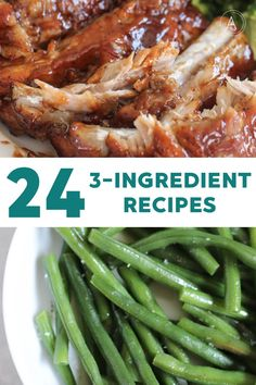We have put together 20 easy 3 ingredient recipes so that you can have your meals planned out in no time! Simple and affordable dinner ideas. Pizza Side Dishes, Best Side Dishes, Main Dishes, Side Dish Recipes, Paleo Recipes, Slow Cooker Recipes, Crockpot Recipes, Paleo Meals, Easy Recipes