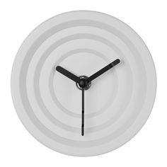 NYLLE Jam IKEA Jam yang tidak berbunyi, jarum bergerak tanpa suara. Dapat digantung atau didirikan agar sesuai dengan ruang yang ada.