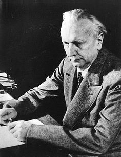 1959 ♦ Karl Jaspers (1883 - 1969) was a German-Swiss psychiatrist and philosopher who had a strong influence on modern theology, psychiatry and philosophy.