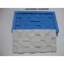 Forma De Silicone Mosaico Gesso Pedra Canjiquinha