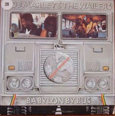 Bob Marley & The Wailers – Babylon By Bus ISLD 11+Poster 2 x Winyle Reggae