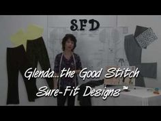 How to Design/Draw Pull-on Elastic Waist Pants - YouTube #surefitdesigns  #pantsfitting #patternmaking