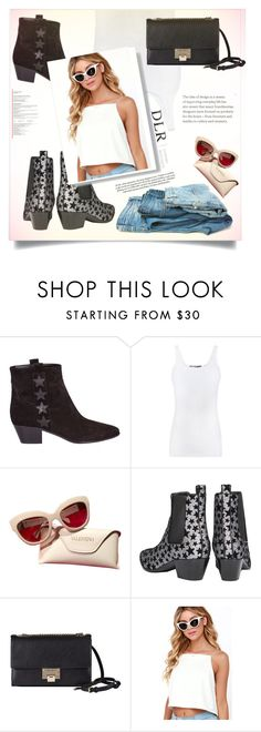 """dlrboutique.com"" by ellma94 ❤ liked on Polyvore featuring Yves Saint Laurent, Vince, Valentino, Jimmy Choo, LULUS and dlrboutique"