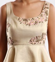 Beige & Pink Embroidered Net Lehenga Set