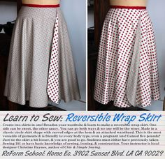 an easy beginners sewing project --- YOU COULD MAKE THIS
