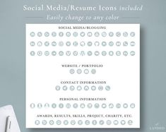 Retail Sales Resume Template Customer Service Resume | Etsy Resume Writing Tips, Resume Writer, Resume Help, Student Resume Template, Modern Resume Template, Creative Resume Templates, Resume Icons, Job Resume, Cover Letter Tips