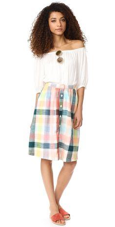ace&jig Carver Skirt   SHOPBOP